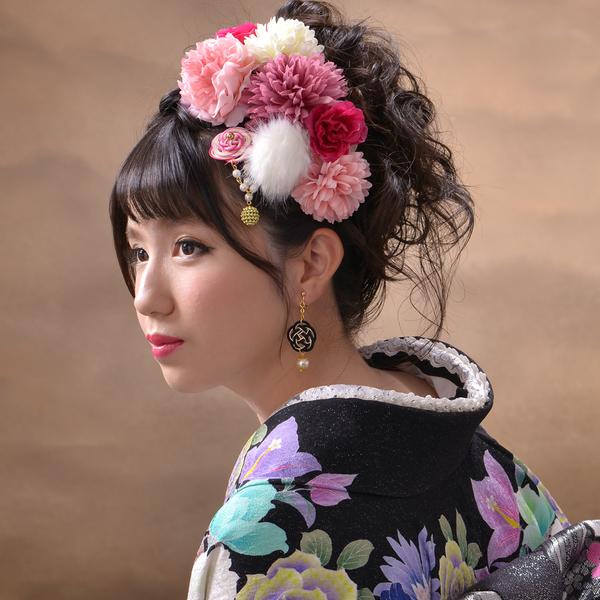 成人式におすすめ♥ HANAOTOME 髪飾り8点セット